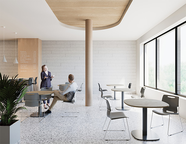 Touch Chair dining room cafe furniture