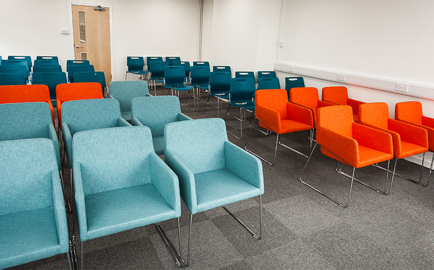 Education meeting room Furniture Case study