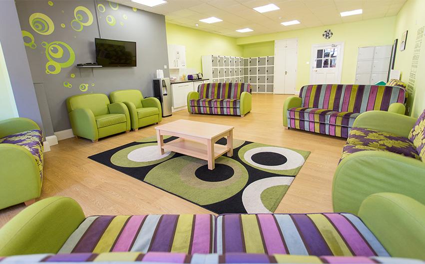 soft seating school education furniture