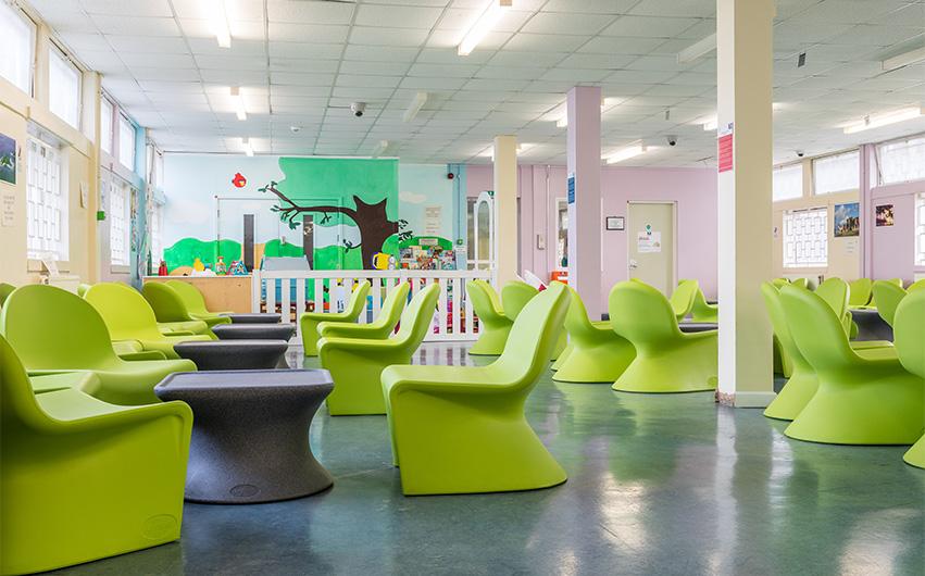 HMP coldingley custodial furniture case study