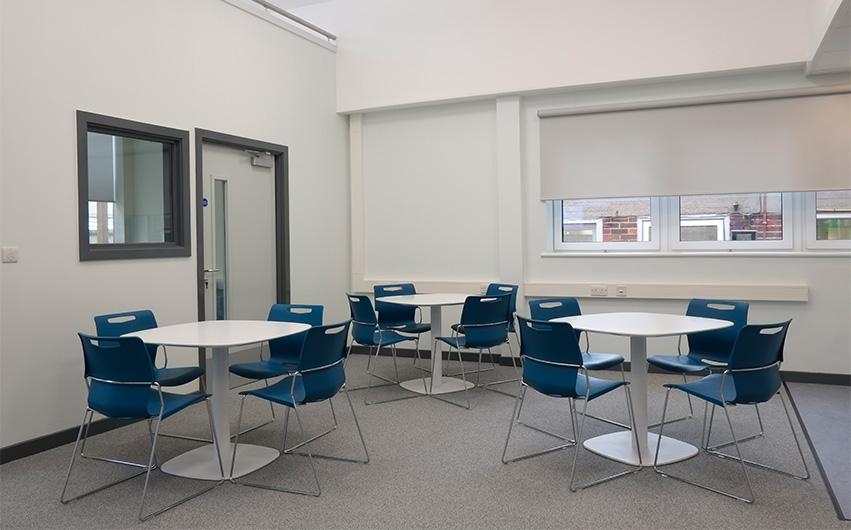 linden lodge school Education dining room Furniture Case study