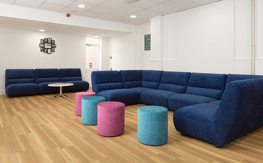soft seating school education furniture for taunton school
