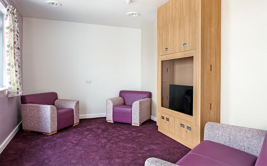 The Longley Centre Pyschiatric Unit Mental Health Furniture Case Study