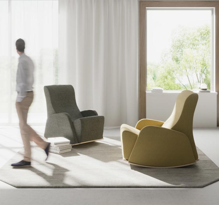 Zen Plus Rocker chair for mental health environments