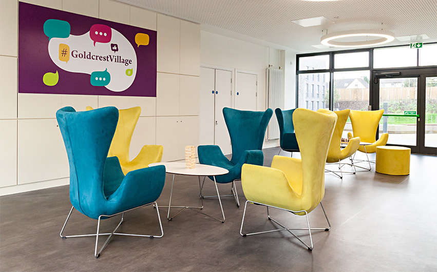 Education Soft Seating Furniture Case Study